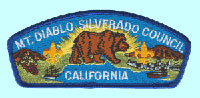 Mt. Diablo 	Silverado Council Patch